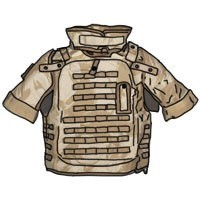 TACTICAL VESTS WITH POUCHES