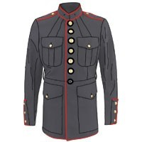 OFF DUTY,PARADE,BARRACKS AND SURPLUS NAVY JACKETS