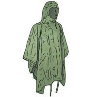PONCHOS AND TRENCHCOATS