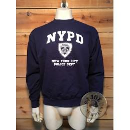 SUDADERA ALGODON NYPD